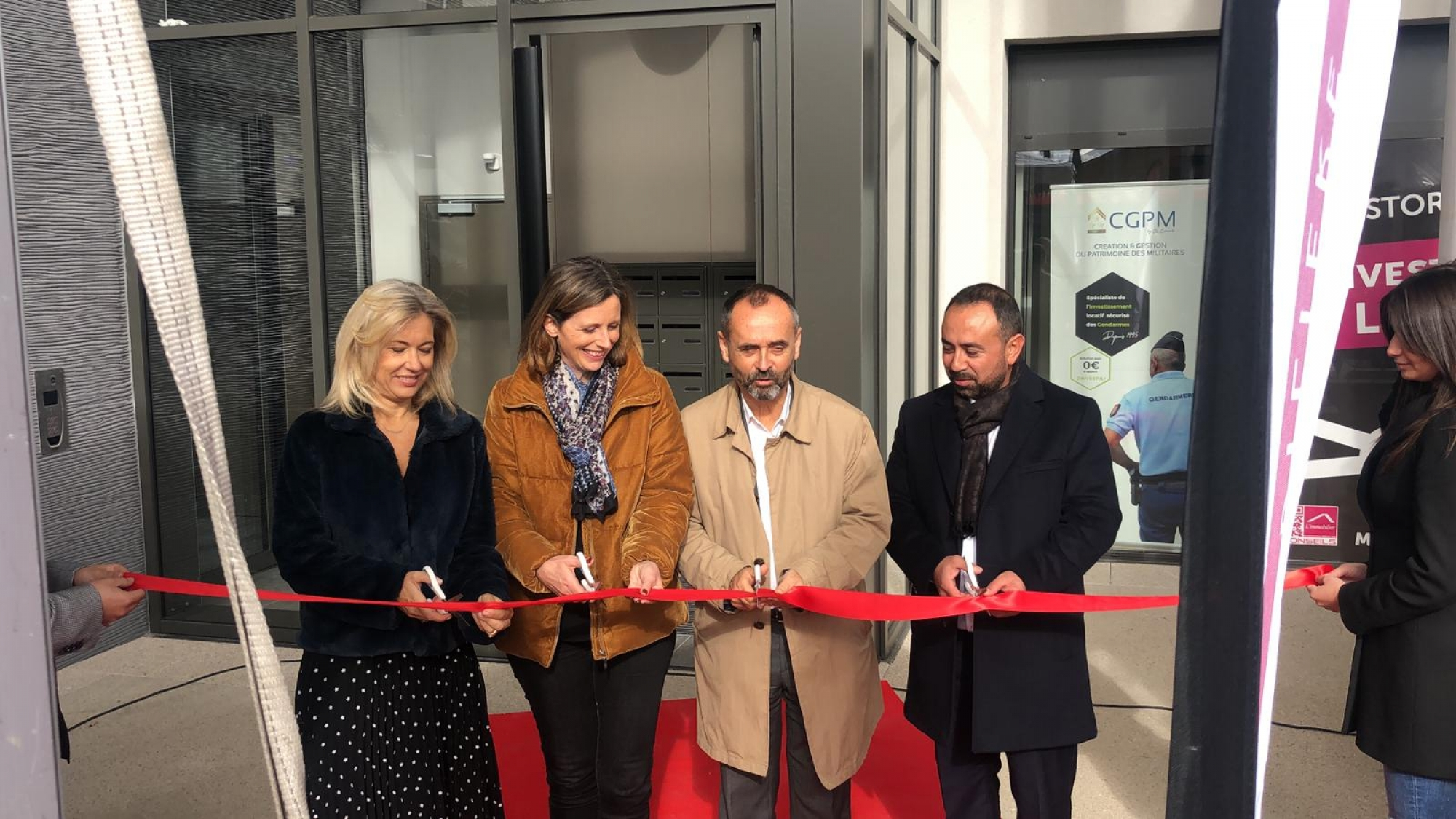 Inauguration résidence L'Emergence à Béziers